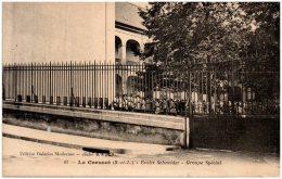 71 LE CREUSOT - Ecoles Schneider - Groupe Spécial    (Recto/Verso) - Le Creusot