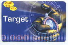 1676 - Target 10+5 CHF Prepaid Telefonkarte - Suisse
