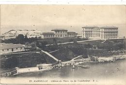 19. MARSEILLE . . CHATEAU DU PHARO , VU DU TRANSBORDEUR . ECRITE AU VERSO - Marseilles