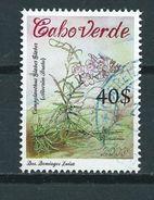 2009 Kaapverdië Flowers,blümen,bloemen,fleurs Used/gebruikt/oblitere - Cap Vert