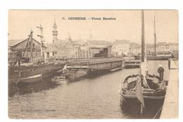 Oostende / Ostende - Vieux Bassins - Enkele Rug - Uitgave Le Bon, Ostende - Oostende