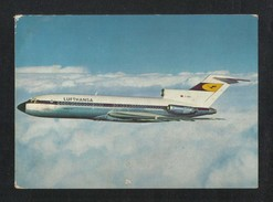 Lufthansa Airline Europa Jet Picture Postcard - Autres