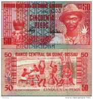 Guinée-Bissau (Guinéa) 50 PESOS (1990) Pick 10 NEUF - UNC - Guinea-Bissau