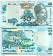 Malawi 50 KWACHA Pick 58 (2012) UNC - Malawi
