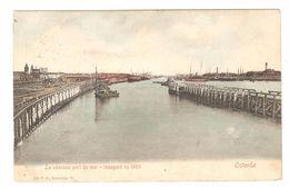 Oostende / Ostende - Le Nouveau Port De Mer - Inauguré En 1905 - Zegel 1 Cent - Oostende