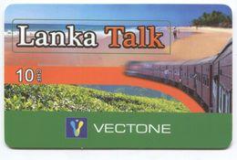 1688 - Lanka Talk 10 CHF Prepaid Telefonkarte - Suisse
