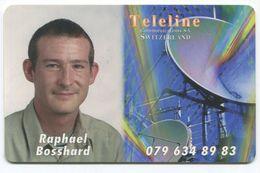 1690 - Teleline Gratis Prepaid Telefonkarte R. Bosshard - Schweiz