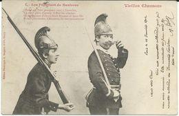 Illustrators - Signed > Bergeret. 1902 Vieilles Chansons - Les Pompiers De Nanterre.Military - Bergeret