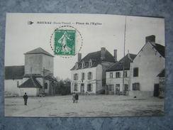 MEUZAC - PLACE DE L'EGLISE - France