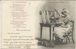 Illustrators - Signed > Bergeret. Nancy 1902 Vieilles Chansons - La Boulangere - Bergeret