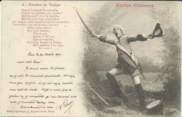 Illustrators - Signed > Bergeret. Nancy 1902 Vieilles Chansons - Fanfan La Tulipe - Bergeret
