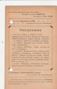 ECAUSSINNES, Programme,Bon De Participation Gouter Matrimonial,lundi Pentecôte,PUB Kwatta,Ciba,Alba,trappistes Vincart - Ecaussinnes
