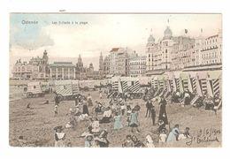Oostende / Ostende - Les Enfants à La Plage - 1906 - Gekleurd - Oostende