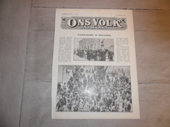 """Origineel Knipsel ( 289 ) Uit Tijdschrift """" Ons Volk Ontwaakt """"  :  Hougaerde  Hougaarde  Hoegaarden  1930 - Vieux Papiers"""