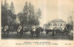 CHASSES A COURRE DE COMPIEGNE EQUIPAGE DU FRANC PORT RENDEZ VOUS PUITS D'ORLEANS - Chasse