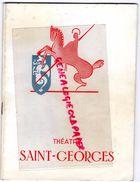 75-PARIS-PROGRAMME THEATRE SAINT GEORGES-MARY MORGAN-INTERDIT AU PUBLIC-JEAN MARSAN-JEAN LE POULAIN-MERCADIER-JOFFO-1968 - Programmi