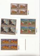 2008 Kenya Aga Khan Anniversary Hospital Education Complete Set Of 4 Corner Blocks Of 4 MNH - Kenia (1963-...)