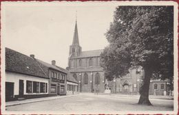 Dentergem Markt Kerk En Vrijheidsboom 1830 Cafe Excelsoir - Dentergem