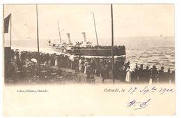 Oostende / Ostende - Ostende Le ... - Uitgave Le Bon Ostende - 1900 - Enkele Rug - Malle / Veerboot / Ferry - Oostende