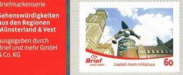 Privatpost Brief Und Mehr Münster: Marke Mit Dem Rathaus Coesfeld - Architektur - Privées & Locales