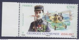 PA 81 Georges Guynemer BDF (2017) Neuf** - Poste Aérienne