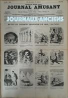 1856 NADAR - LE CORSAIRE - JOURNAL POUR RIRE - JOURNAL AMUSANT N° 15 - 1850 - 1899