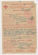 MESSAGE FAMILIAL 1943 CROIX ROUGE DELAGATION GENERALE AOF / COLONIALE DU SOUDAN BAMAKO DEUTSCHES ROTES KREUZ CPA923 - Cartas