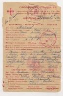 MESSAGE FAMILIAL 1944 CROIX ROUGE DELAGATION GENERALE AOF / COLONIALE DU SOUDAN BAMAKO DEUTSCHES ROTES KREUZ CPA924 - Cartas