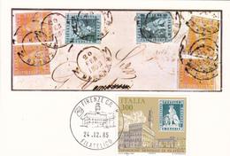 Carte-Maximum ITALIE N° Yvert 1682 (FLORENCE) Obl Sp Ill - Cartas Máxima