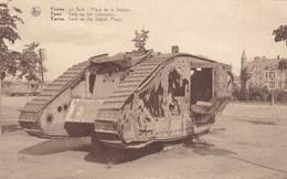 Ieper, Ypres, Tank Op Het Stationplein (pk38333) - Ieper