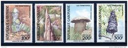 Gabon, 1991, Termite Nests, Insects, Animals, MNH, Michel 1098-1101 - Gabon (1960-...)