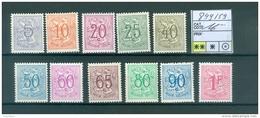 849-859   Xx - Unused Stamps