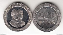 ESPAÑA 2000.JUAN CARLOS Y FELIPE  200 PESETAS. NUEVA SIN CIRCULAR.CN4424 - [ 5] 1949-… : Royaume