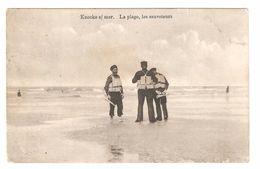 Knokke / Knocke S/Mer - La Plage, Les Sauveteurs - 1912 - Knokke