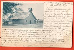 NEH-01  Chapelle D'Antioka Près De La Gottraudaz Vers L'Eglise Précurseur, Circulé En 1899 - VD Vaud
