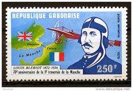 Gabon, 1979, Bleriot, Aviation, Airplane, Across The Channel, MNH, Michel 708 - Gabon (1960-...)