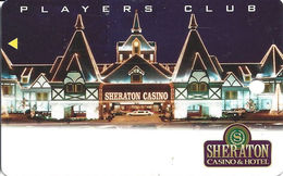 Sheraton Casino - Tunica, MS - BLANK Slot Card - Casino Cards