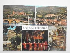 Postcard Gruss Aus Heidelberg My Ref B21837 - Greetings From...