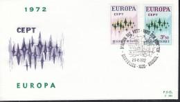 BELGIEN 1678-1679, FDC, Europa CEPT 1972 - Europa-CEPT