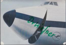 Boeing 747 Der Lufthansa Mit Offenem Bug - 1946-....: Ere Moderne