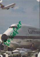 Flugzeuge Mit Boeing 747-400 Der Lufthansa - 1946-....: Ere Moderne