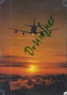 Flugzeug Der Lufthansa In Abendsonne - 1946-....: Moderne