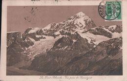 La Dent Blanche Vue Prise Du Gornergrat (1918) - VS Valais