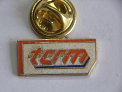 Pin's - Transports - T.C.R.M. - TCRM - Transport Ville De METZ Et De L'agglomération Messine - Trasporti