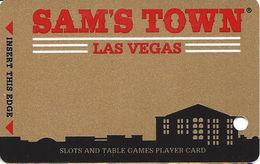 SAM's Town Casino - Las Vegas, NV - BLANK Slot Card - Casino Cards