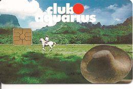 -CARTE-PUCE-1996- GEM2-ADHERENT-CLUB AQUARIUS-TBE-RARE - Sonstige