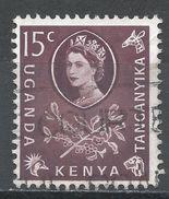 Kenya, Uganda & Tanzania 1960. Scott #122 (U) Coffee - Kenya, Uganda & Tanganyika