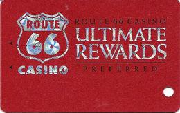 Route 66 Casino - Casa Blanca, NM USA - BLANK Slot Card - Casino Cards
