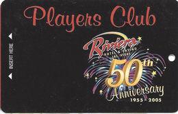 Riviera Casino - Las Vegas, NV - BLANK 50th Anniv. Slot Card - Cartes De Casino