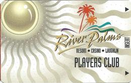 River Palms Casino - Laughlin, NV - BLANK Slot Card - Casino Cards